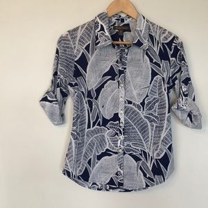 Tommy Bahama Tropical button down shirt Size small